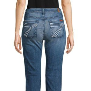 7 For all Man Kind Dojo Flare Jeans